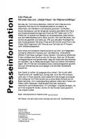 Werbefax Presseinformation cad-plots.de