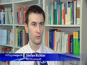 TV-interview im ARD-Mittagsmagazin (Rechteinhaber: ARD)