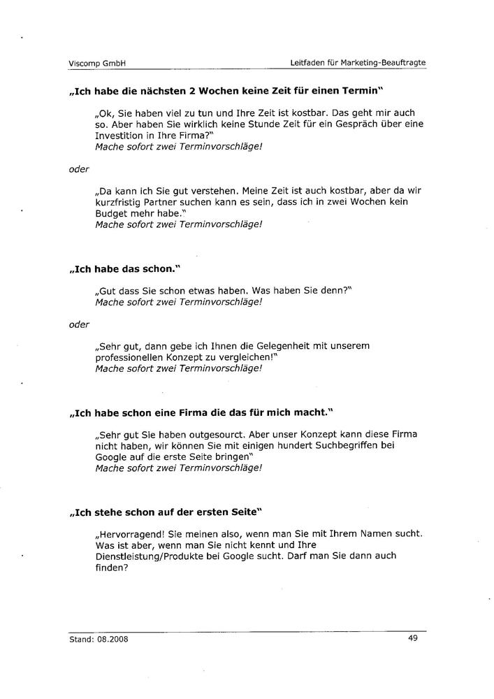 Angeblicher Leitfaden der Viscomp GmbH Seite 5
