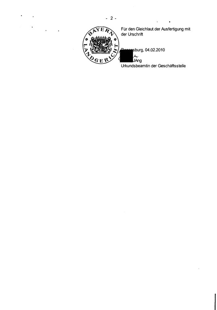 Versäumnisurteil Landgericht Regensburg Seite 4
