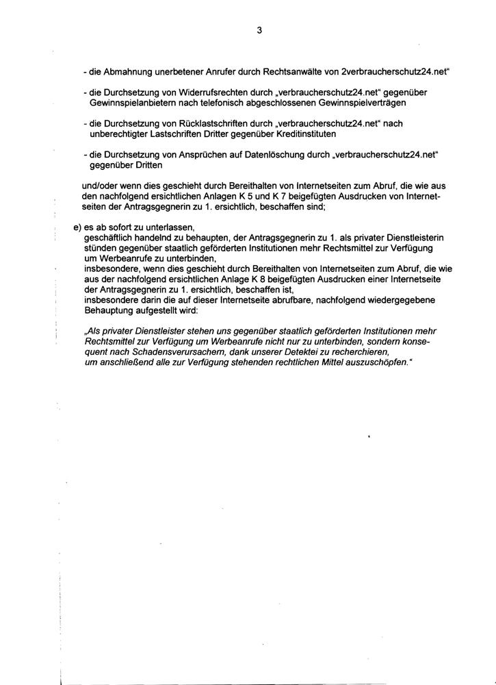 Einstweilige Verfügung LG Berlin Seite 3